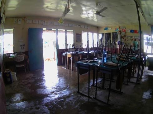 22.2 började vi hjälpa skolor i närheten