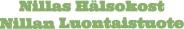 nillas hälsokost logo